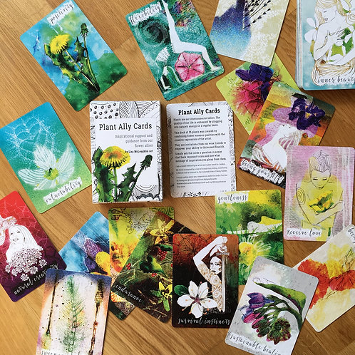 Plant Ally Healing Cards 🇬🇧