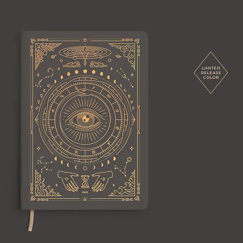 Magic of I Vegan Leather Journal - Charcoal