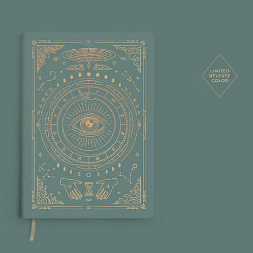 (Pre-Order) Magic of I Vegan Leather Journal - Teal