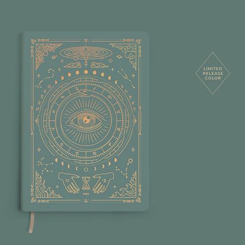 Magic of I Vegan Leather Journal - Teal
