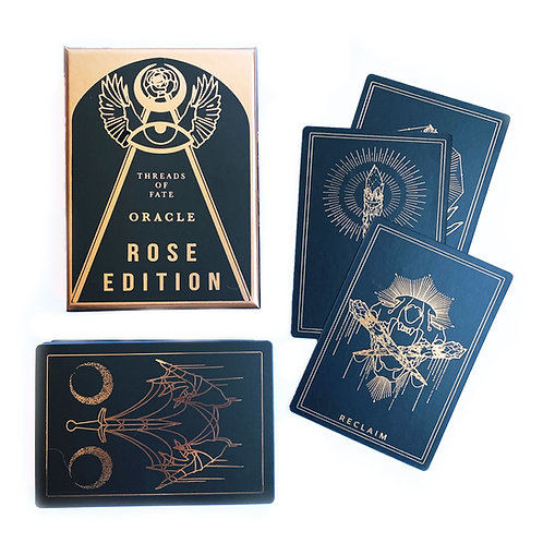 Threads of Fate Oracle (Black & Rose Gold Edition)