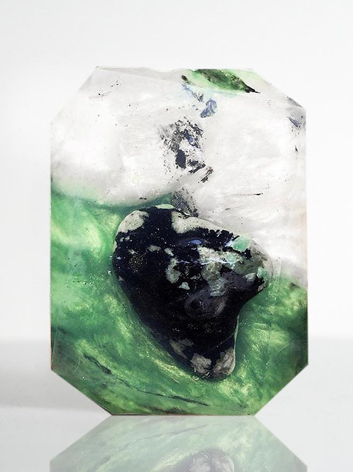 Crystal Bar Soap (Valley of Light - Taurus/Emerald)