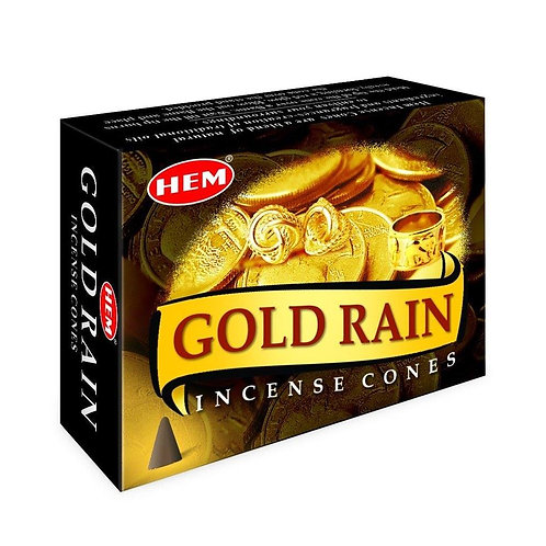 HEM Gold Rain Incense Cones