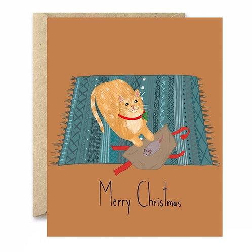 I Got You A Christmas Gift Greeting Card