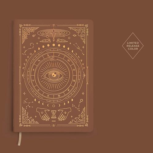 Magic of I Vegan Leather Journal - Desert Brown