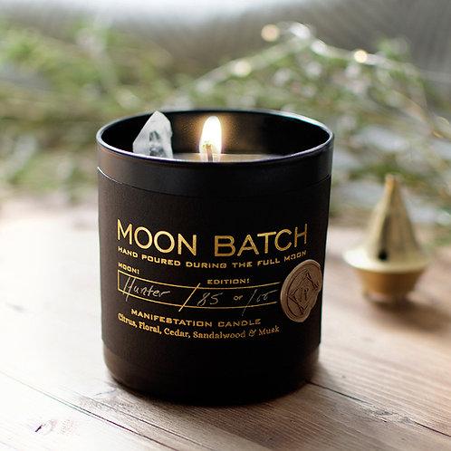 Moon Batch Candle (Artemis Blend - Clear Quartz)