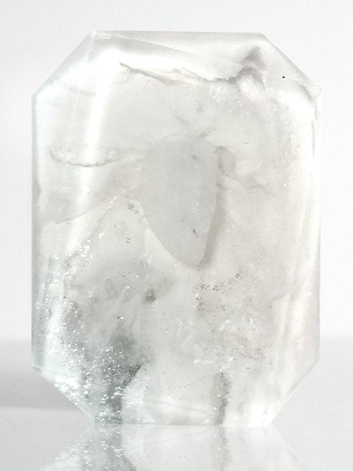 Crystal Bar Soap (Goddess of Clarity - Clear Quartz)