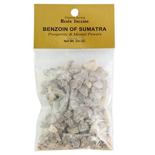 Benzoin of Sumatra Resin