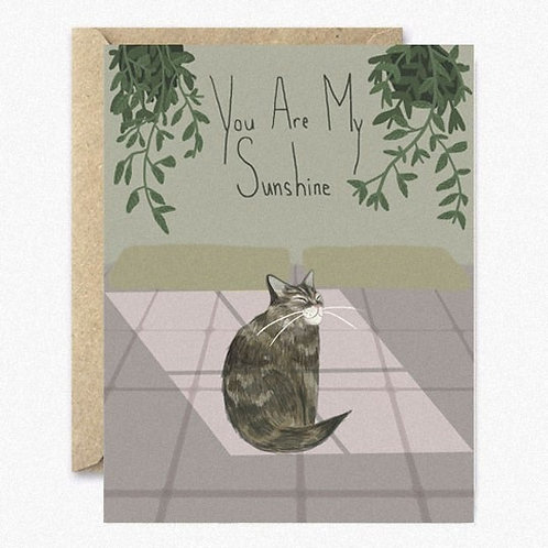 You Are My Sunshine Greeting Card