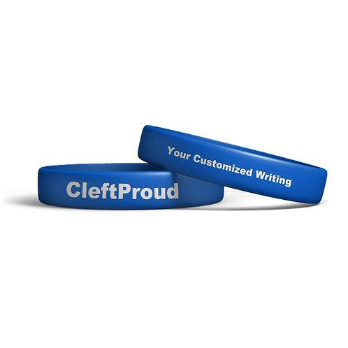 Customized CleftProud Wristband