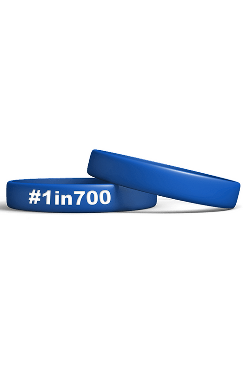 1in700 Wristband