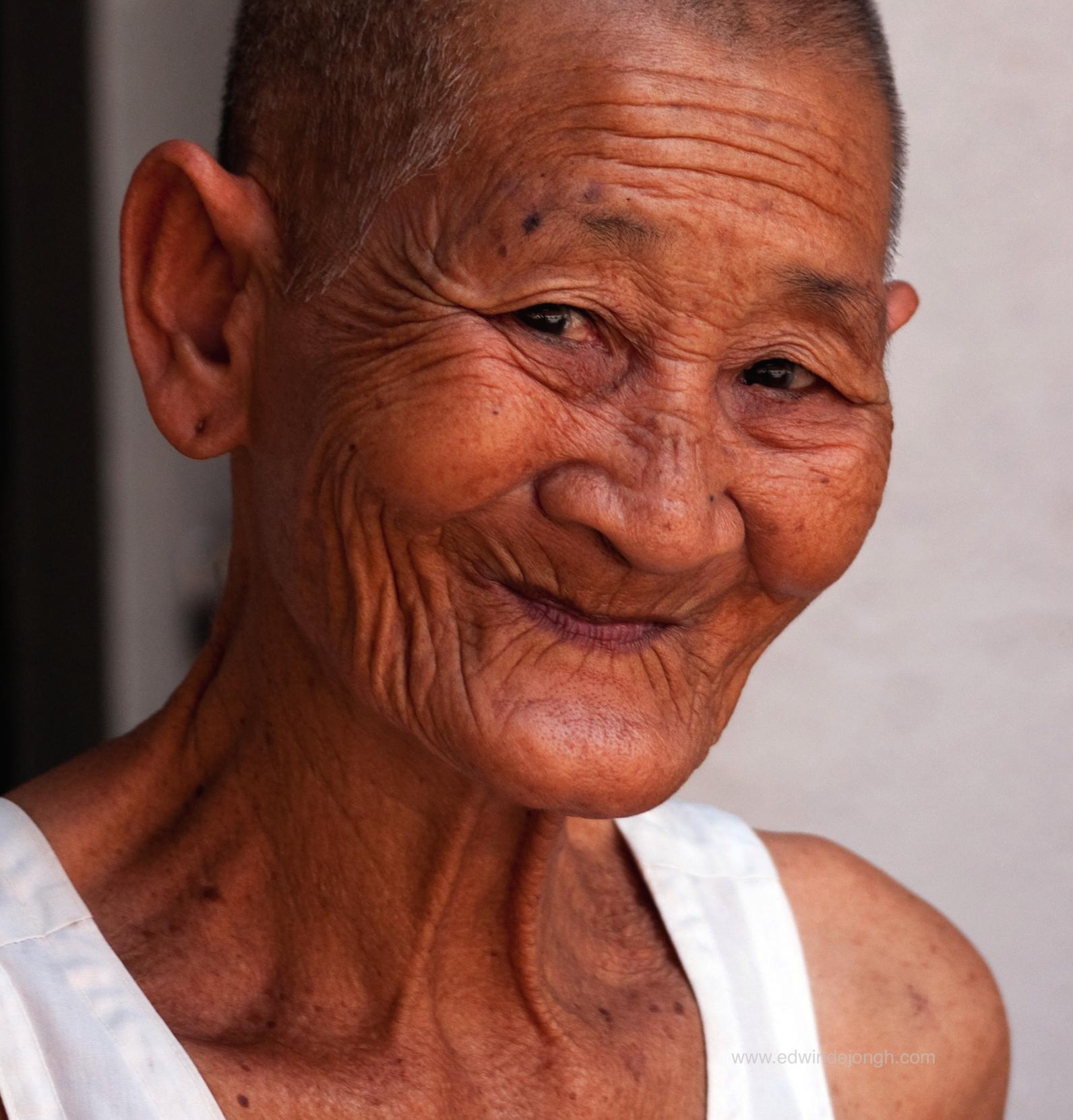 She Smiled (Angkor Wat, Cambodia)