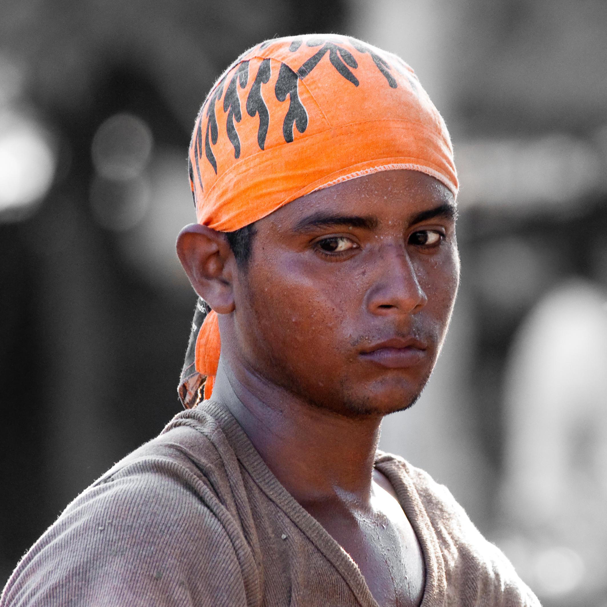 Hombre Trabajando (Nicaragua)