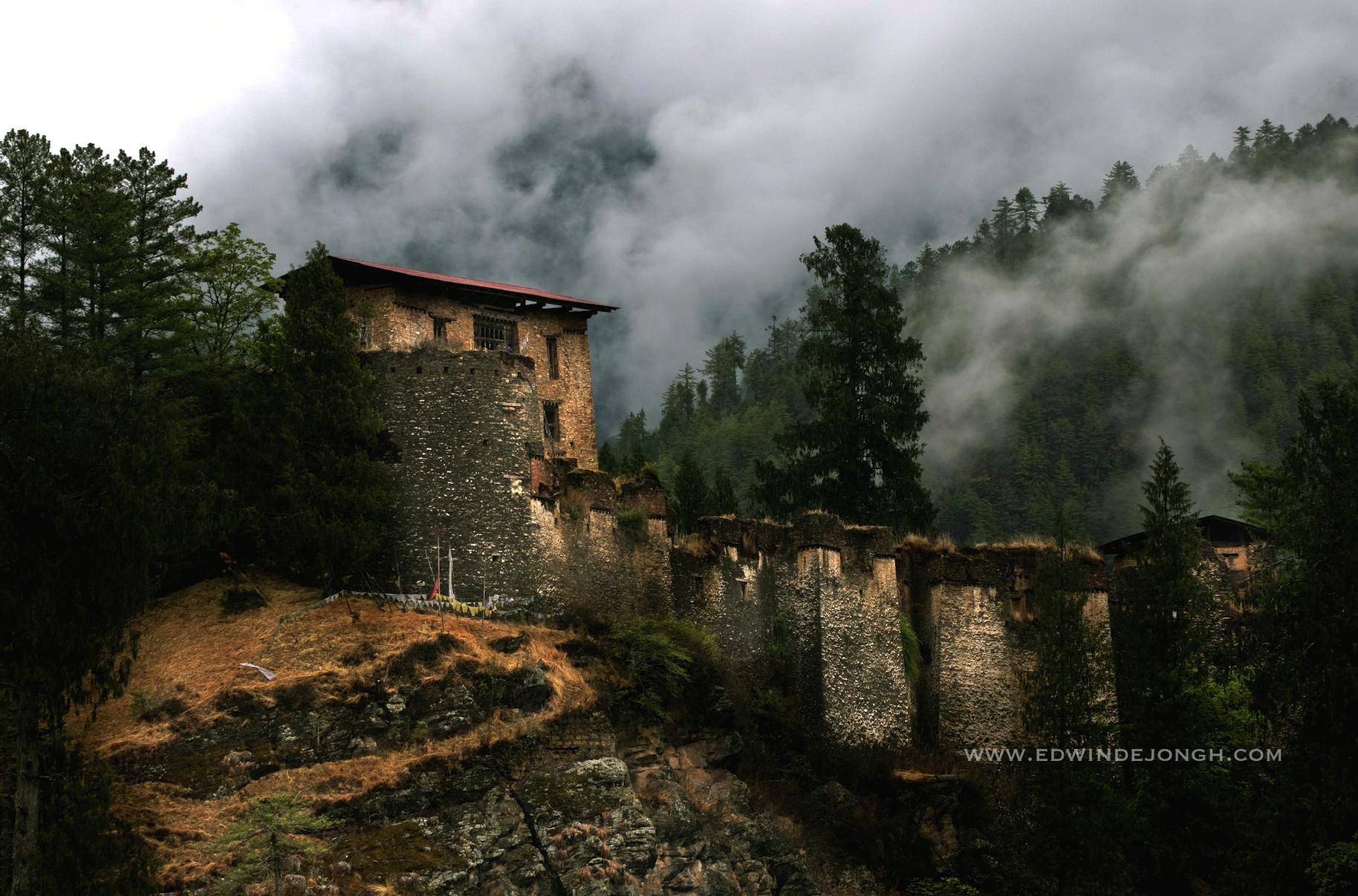 Drukgyel Dzong (2580 mtrs)
