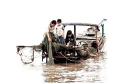 Father's Lesson (Cambodia)