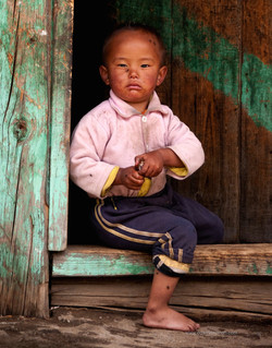 Bhutanese boy (Bhutan)