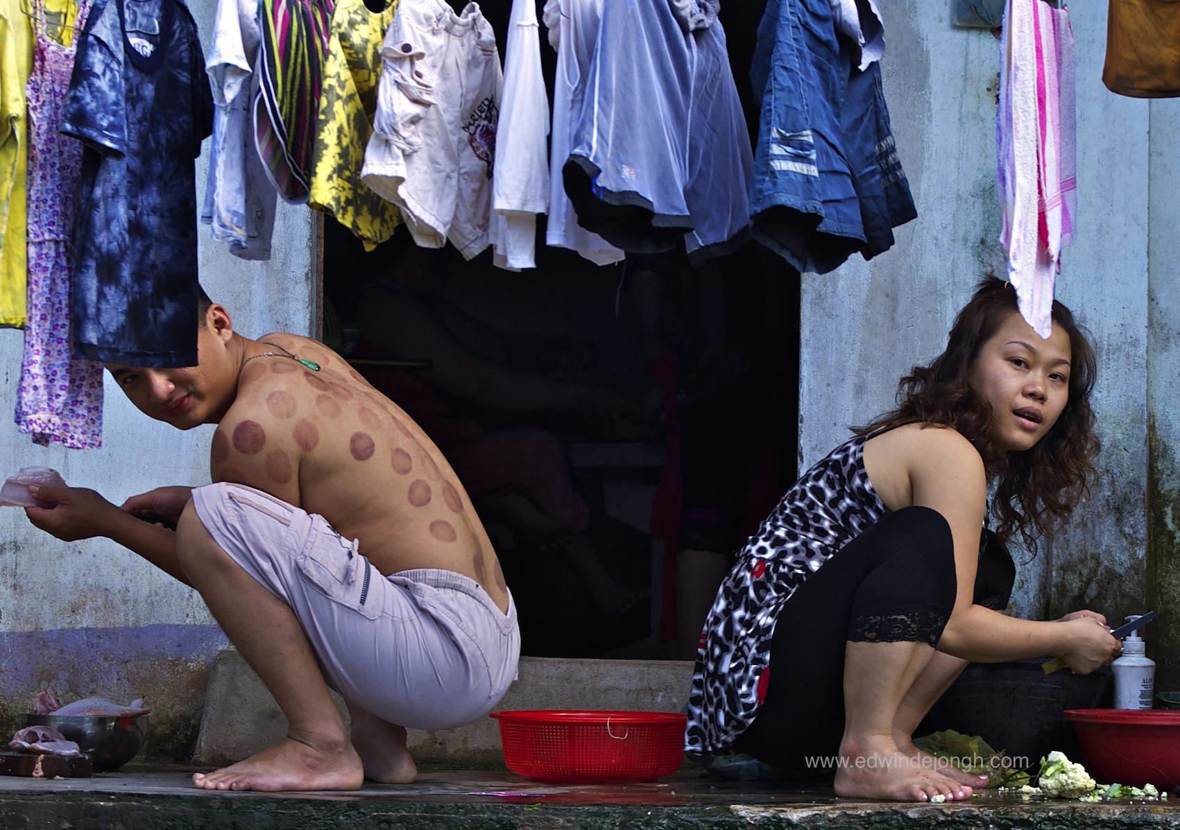 Back to Back (Mekong Delta, Vietnam)