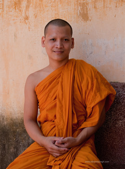 Phnom Penh monk (Cambodia)