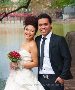 Vietnamese wedding in Hanoi