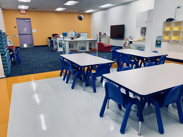 Strip and Wax done to classroom