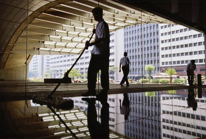 Office and janitorial cleaning.