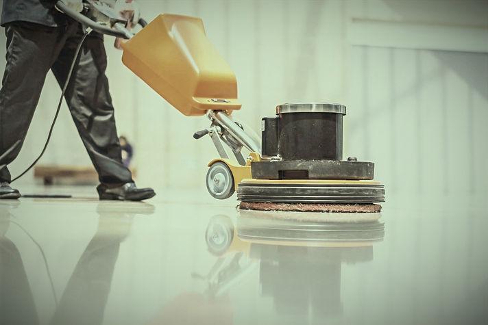 Deep floor cleaning