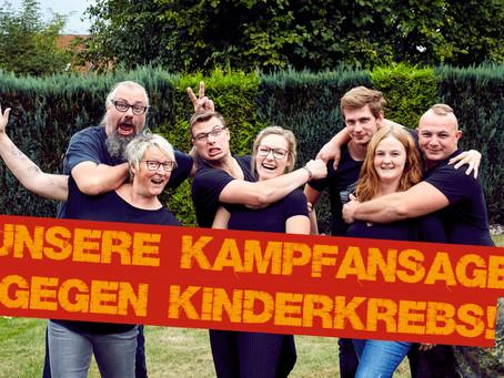 Unsere Kampfansage gegen KinderKrebs!