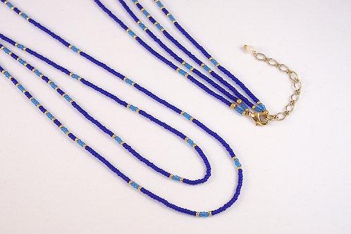 ネックレス - 瑠璃紺