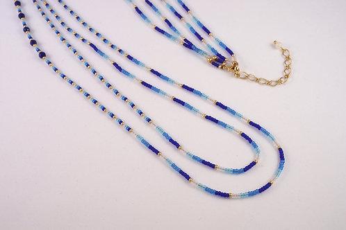 ネックレス - 青藍