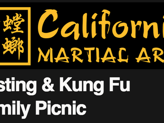 Testing & Kung Fu Family Picnic Newsletter