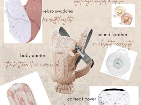 6 EVERYDAY BABY THINGS FOR THE NEW MOM ON THE MOVE