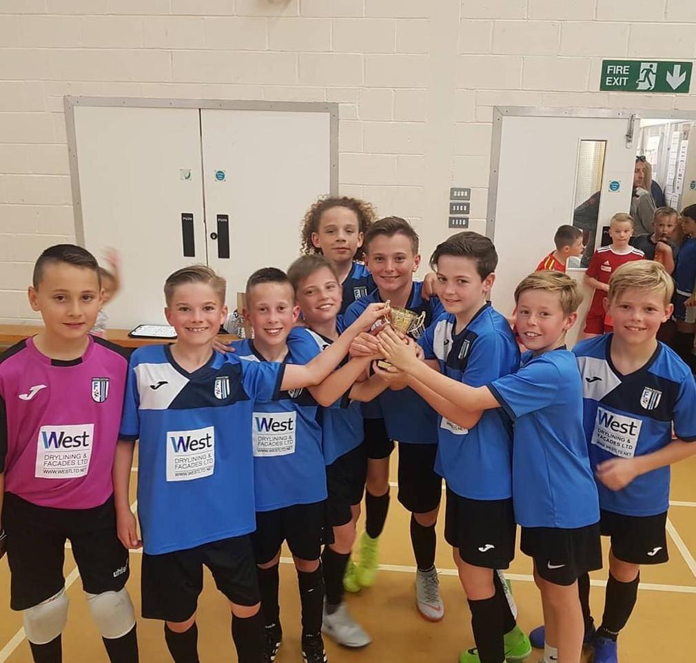 U11s Champions of the Essex Epd Futsal League in Basildon