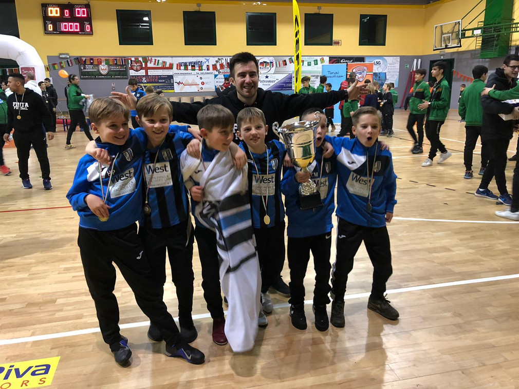 U11s Champions of the Fenice Cup in Venice , Italy !