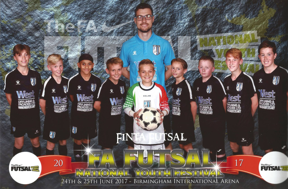 U12'S NATIONAL RUNNERS UP