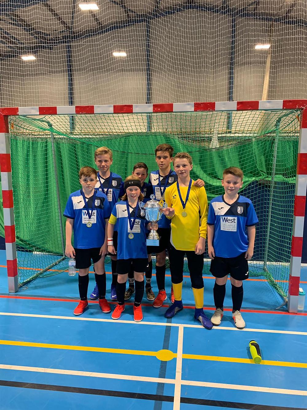 Squad - Owen , Fletcher (C) , Hayden , Daniel , Bobby , Harrisson & Henry