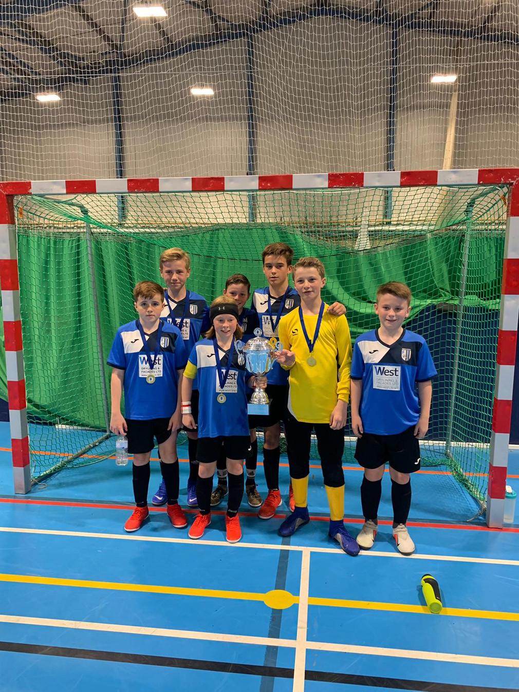 U13/14s Champions of the Aldenham Cup