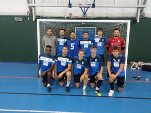 Finta Futsal first ever adult friendly