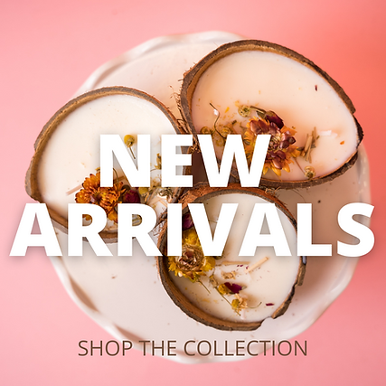 New Candle Arrivals