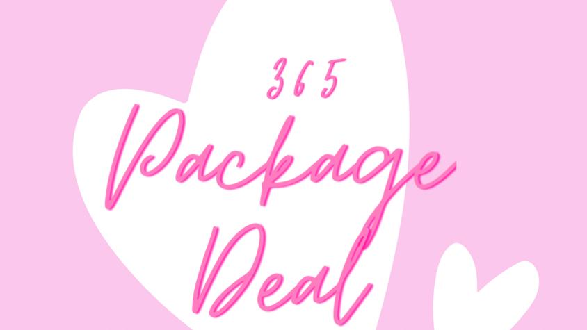 365 PackageDeal Kits 💕
