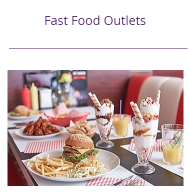 Finance for Fast Food Outlets