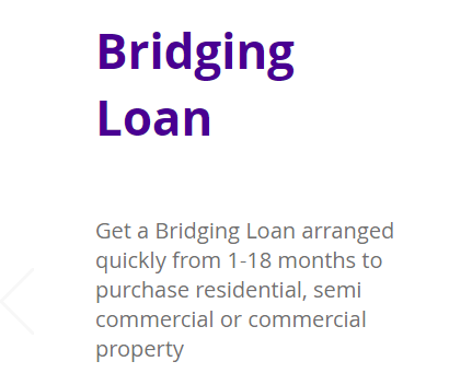 Get fast Bridging Finance in place in just a few days