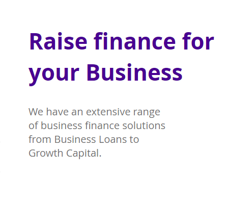 Raise finance for your business today