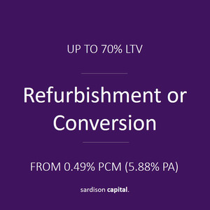 Refurbishment or Conversion Finance | Sardison Capital