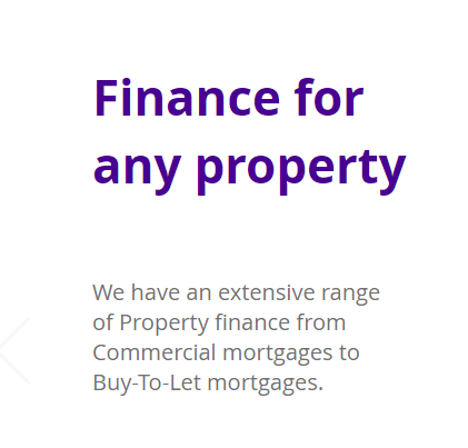 Finance for any property