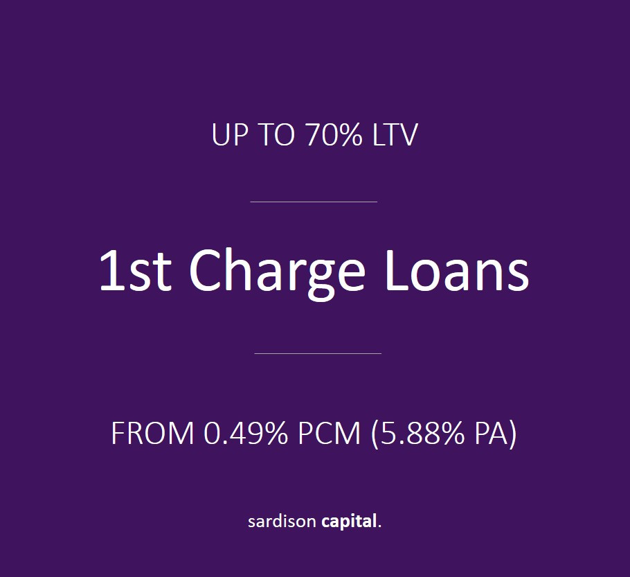 1st Charge Loans | Sardison Capital