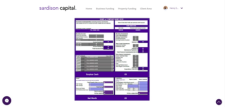 Sardison Capital New Worth Calculator