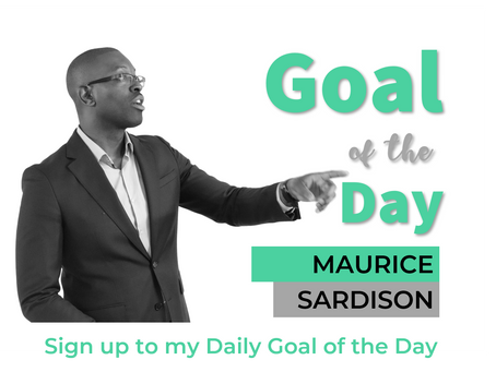 Achieve more with my Goal of the Day
