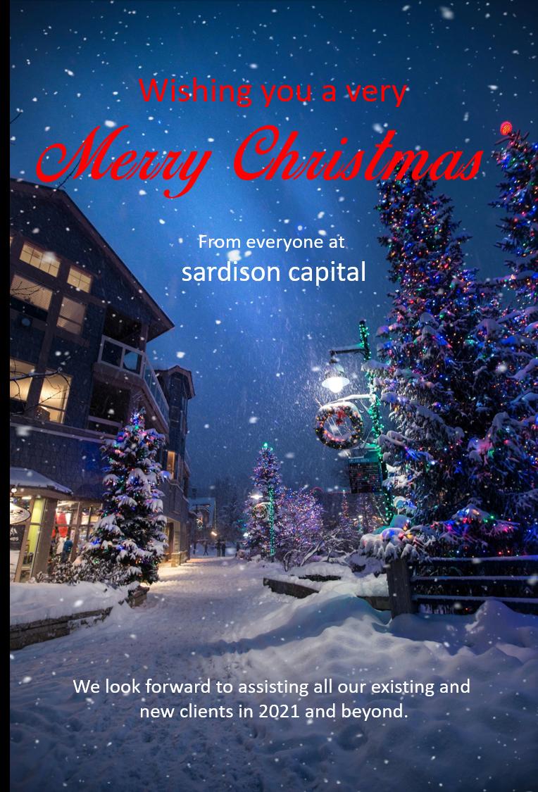 Merry Christmas From Sardison Capital