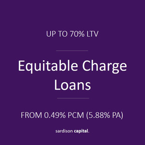Equitable Charge Loan | Sardison Capital