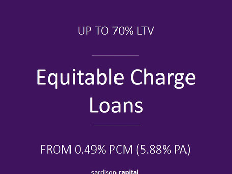 Equitable Charge Loan | Sardison Capital